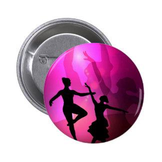 Ballet Dancers 6 Cm Round Badge
