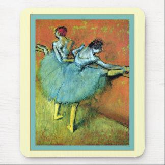 Ballet Dancers At The Bar Edgar Degas Mouse Pads