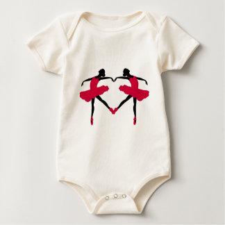 Ballet Dancers Baby Bodysuit