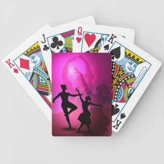 Ballet Dancers Bicycle Playing Cards