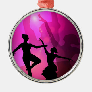 Ballet Dancers Christmas Ornament