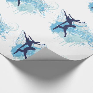 Ballet Dancers Couple Wrapping Paper