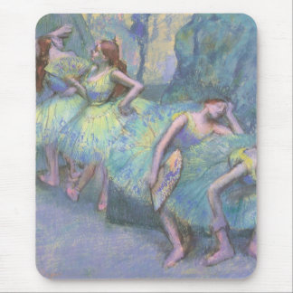 Ballet Dancers in the Wings by Edgar Degas Mouse Pad