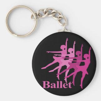 Ballet Dancers Key Chains