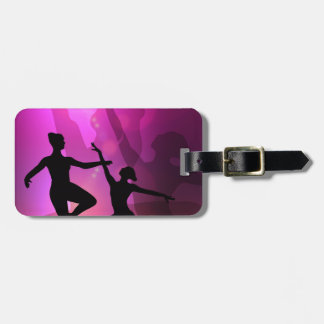 Ballet Dancers Luggage Tag