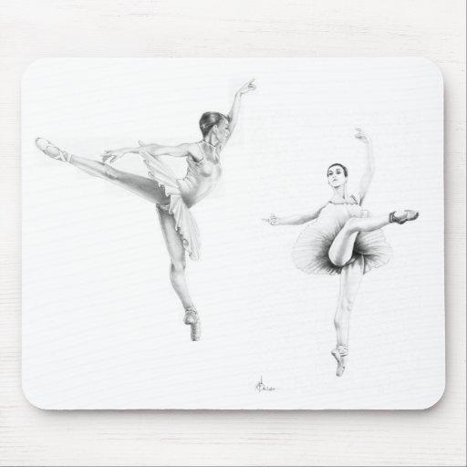 Ballet Dancers Mousepads