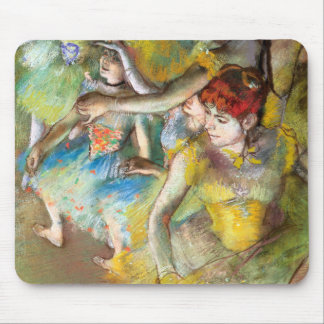 Ballet Dancers on Stage by Degas Mouse Pad