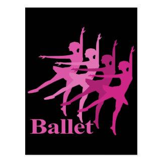 Ballet Dancers Post Card