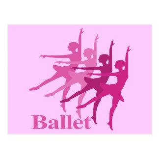 Ballet Dancers Postcard