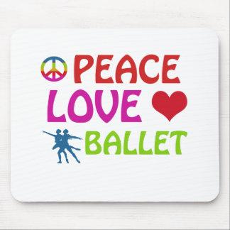 Ballet dancing designs mouse pads