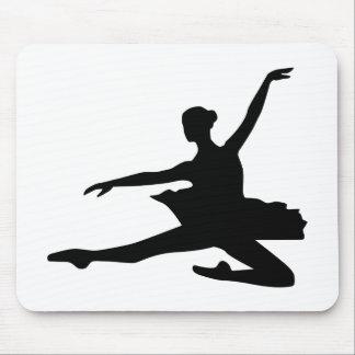 Ballet dancing girl mouse pad