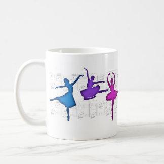 Ballet Day Ballerinas Basic White Mug