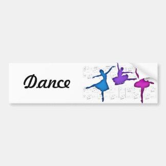 Ballet Day Ballerinas Bumper Sticker