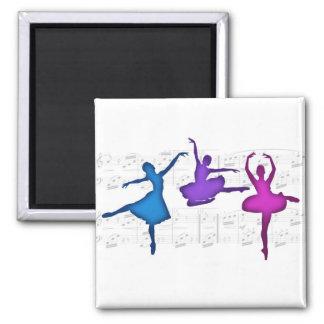 Ballet Day Ballerinas Magnet