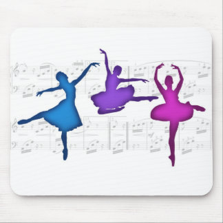 Ballet Day Ballerinas Mouse Pad