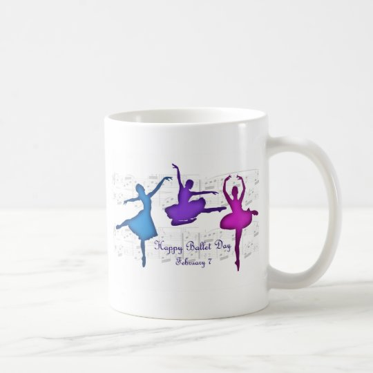 Ballet Day February 7 Coffee Mug