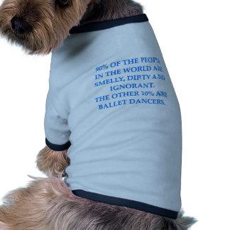 ballet pet shirt