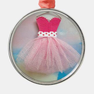 ballet dress.jpg Silver-Colored round decoration