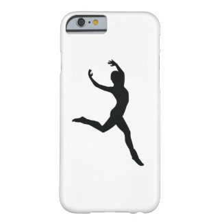 Ballet Elegant Dancing Black Silhouette iPhone 6/6 Barely There iPhone 6 Case