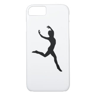 Ballet Elegant Dancing Black Silhouette iPhone 7 Case