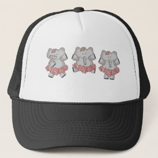 Ballet Elephant Trucker Hat