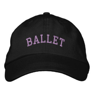 BALLET EMBROIDERED HATS