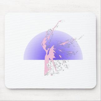 Ballet Figure Mouse Pad