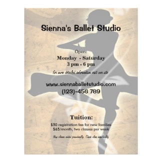 Ballet Custom Flyer