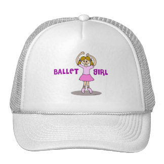 Ballet Girl Gifts Cap
