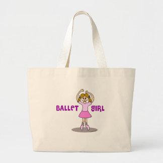 Ballet Girl Gifts Jumbo Tote Bag