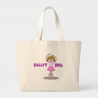 Ballet Girl Gifts Large Tote Bag
