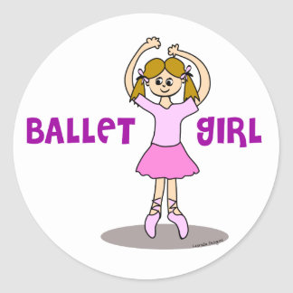 Ballet Girl STickers