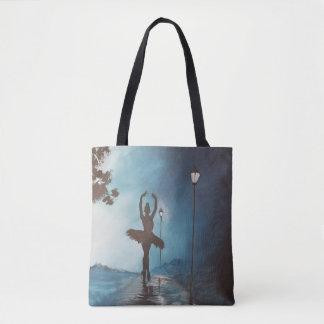 Ballet in Park Tote Bag