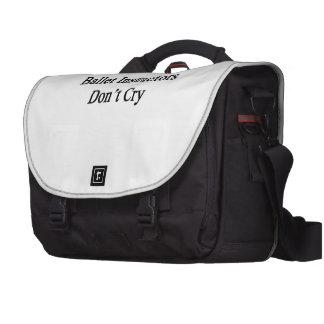 Ballet Instructors Don't Cry Laptop Commuter Bag