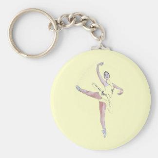 Ballet Key Ring