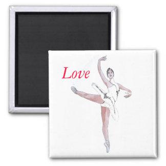 Ballet Refrigerator Magnet
