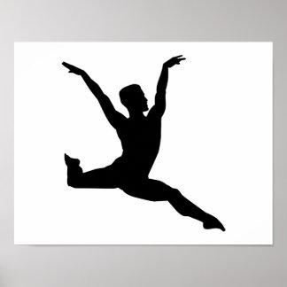 Ballet man poster