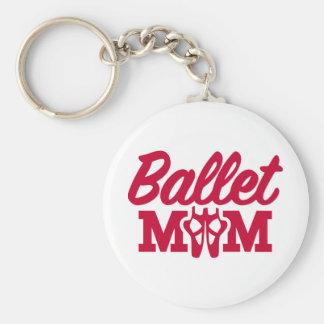 Ballet mom key ring