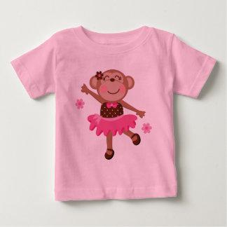 Ballet Monkey Cute Baby T-Shirt