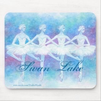 Ballet Mousepad - Dance of the Baby Swans