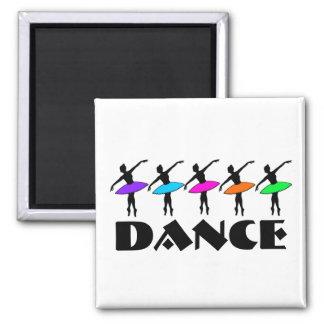Ballet Neon Ballerinas Dance Teacher Dancer Magnet