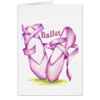 Ballet Note Card