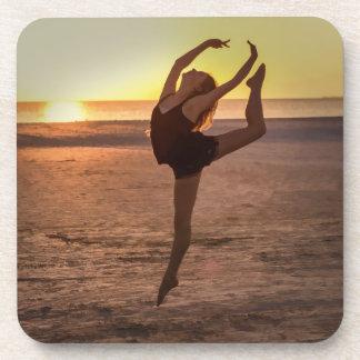 Ballet on the Beach Cork Coaster
