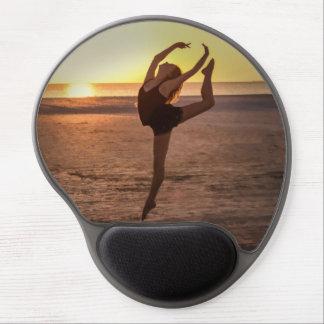 Ballet on the Beach Gel Mouse Mat