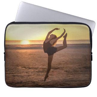 Ballet on the Beach Laptop Sleeve