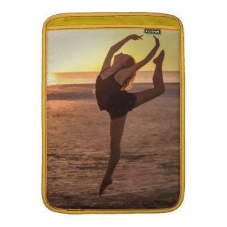 Ballet on the Beach MacBook Sleeve
