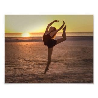 Ballet on the Beach Photo Art