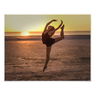 Ballet on the Beach Photographic Print