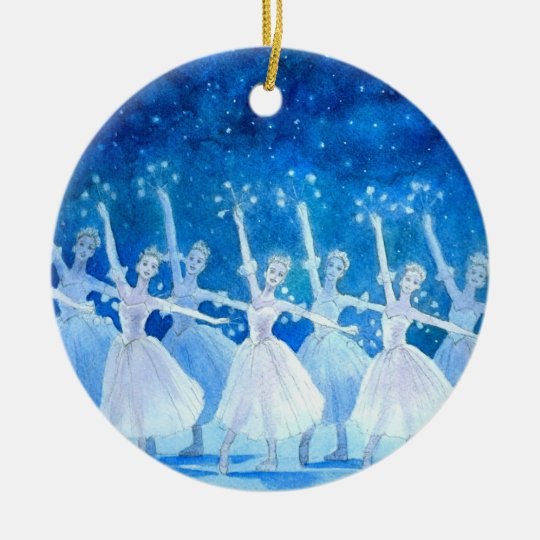 Ballet Ornament - Dance of the Snowflakes
