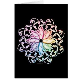 Ballet Pattern (spectral) Card